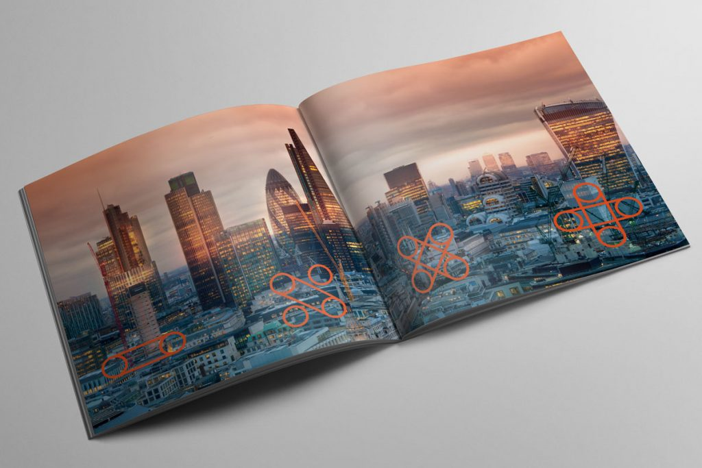 Centre spread of the brochure for PryceWilliams.