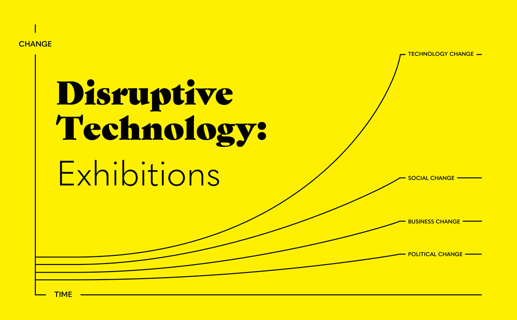 Disruptive Technology: exhibitions